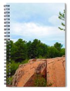 Along The Chikanashing Trail Spiral Notebook