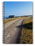 Along The Coast Of Baltic Sea Spiral Notebook