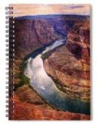 Along The Colorado River Spiral Notebook