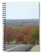 Along The Country Highway 1 Spiral Notebook