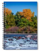 Along The Creek Spiral Notebook