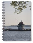 Along The Delaware River In New Jersey Spiral Notebook