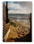 Along The Dunes Spiral Notebook