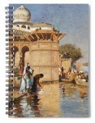 Along The Ghats Mathura Spiral Notebook