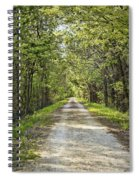 Along The Katy Trail Spiral Notebook