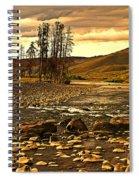 Along The Larmar River Spiral Notebook