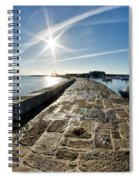 Along The North Wall Spiral Notebook