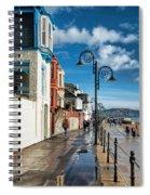 Along The Promenade - Lyme Regis Spiral Notebook