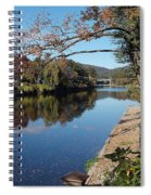 Along The River In Shelbourne Falls Spiral Notebook