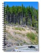 Along The Roadway Spiral Notebook