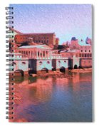 Along The Schuylkill At The Philadelphia Waterworks Spiral Notebook
