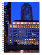 Along The Scioto At Night Spiral Notebook