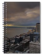 Along The Seattle Waterfront Spiral Notebook