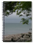 Along The Shore Spiral Notebook