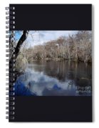 Silver River - Reflections Spiral Notebook