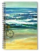 Along The Surf Spiral Notebook