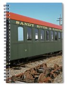 Along The Tracks Spiral Notebook