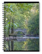 Along The Wissahickon In October Spiral Notebook