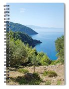 Alonissos Island Spiral Notebook
