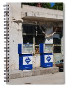 Alonissos Petrol Station Spiral Notebook