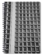 Alot Of Windows In Black And White Spiral Notebook