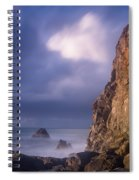 Alpenglow On Wedding Rock Spiral Notebook