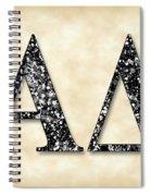 Alpha Delta - Parchment Spiral Notebook