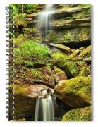 Alpha Falls Cascades Spiral Notebook