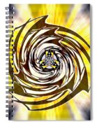 Alpha Starship One Spiral Notebook