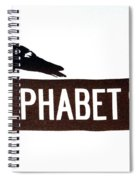 Alphabet City Spiral Notebook