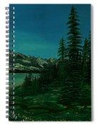 Alpine Garden Spiral Notebook