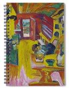 Alpine Kitchen Spiral Notebook