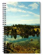 Alpine Lake Off The Beartooth Highway Spiral Notebook