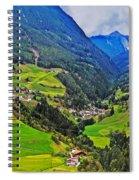 Alpine Meadow Spiral Notebook
