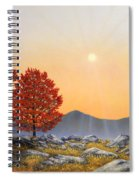 Alpine Meadow II Spiral Notebook