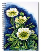 Alpine Ranunculus Spiral Notebook