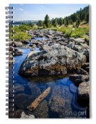 Alpine Stream Beartooth Mounain Range Spiral Notebook