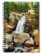Alpine Torrent Spiral Notebook