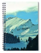Alps Green Profile Spiral Notebook