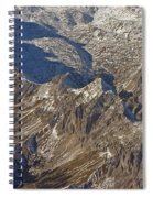 Alps - The Bowl Spiral Notebook