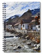 Alps Vicinity Spiral Notebook