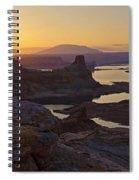 Alstrom Point Sunrise  Spiral Notebook