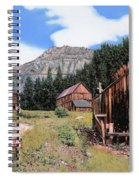 Alta In Colorado Spiral Notebook