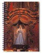 Altar And Madonna Spiral Notebook