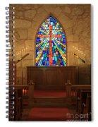 Altar At The Little Church In La Villita Spiral Notebook