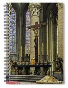 Altar Of Rouen Cathedral Spiral Notebook