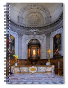 Alter At St Martins Cathedral Spiral Notebook