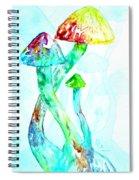 Altered Visions I Spiral Notebook