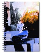 Alternate Reality - Photographer On Fire Spiral Notebook