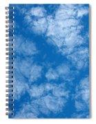 Altocumulus Cloud. Spiral Notebook